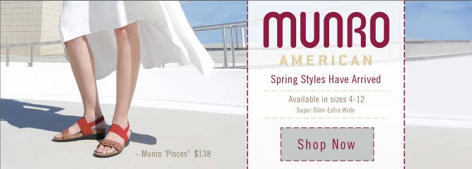 Munro American - New for Spring